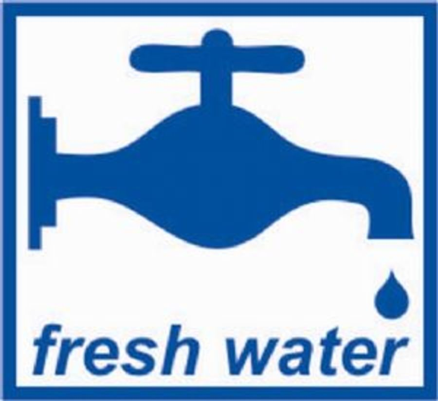 Fresh Water Sticker - W4