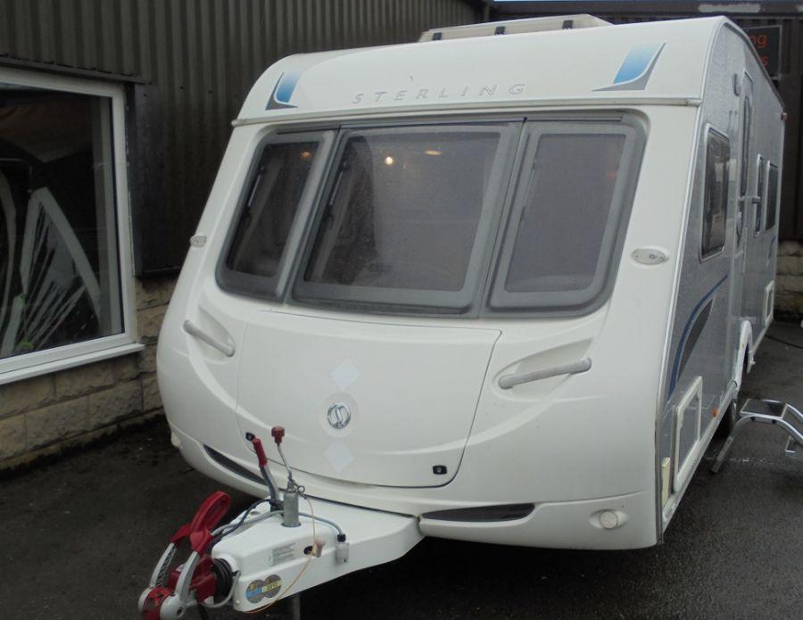 Sterling Elite Onyx  4 Berth Fixed Bed Caravan