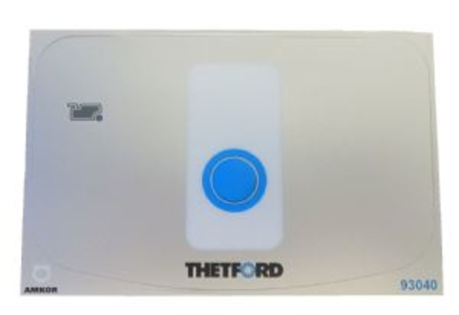Thetford SC260 Toilet Control Panel Sticker
