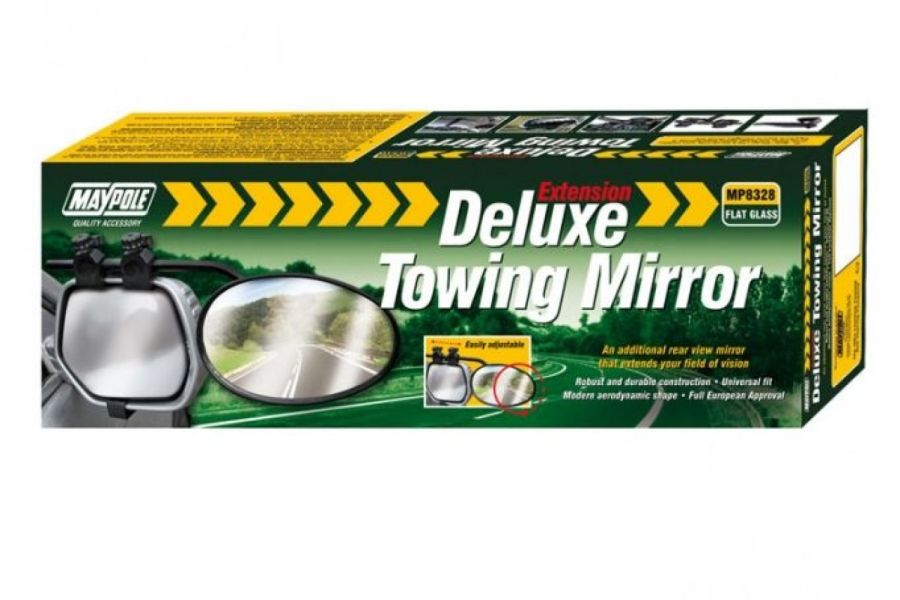 Maypole Deluxe Towing Mirror MP8328