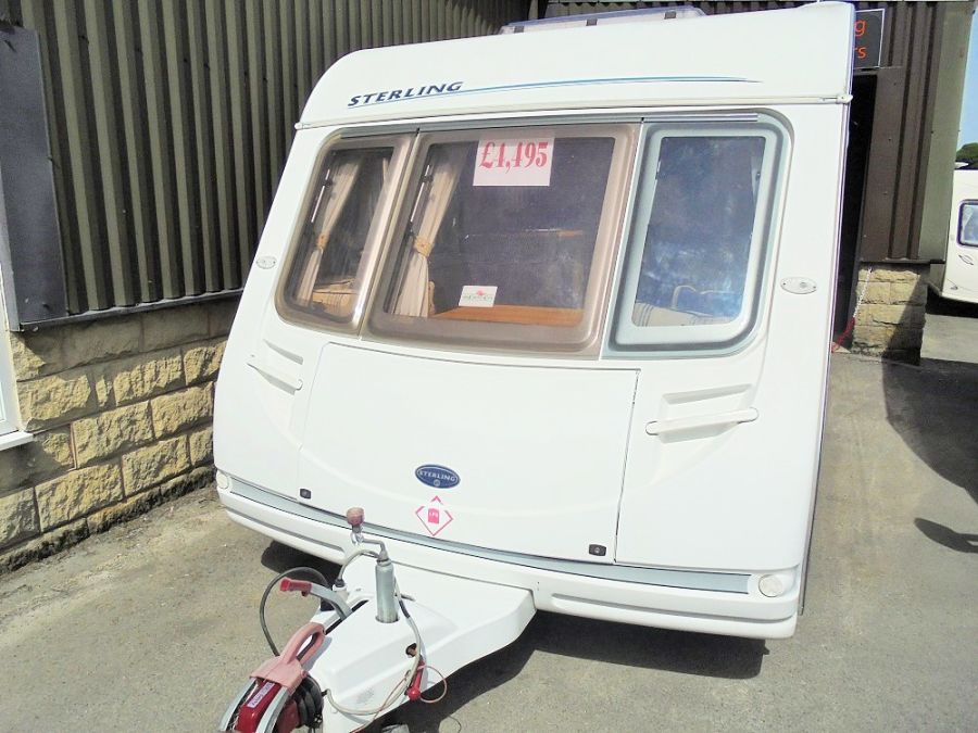 Sterling Eccles Topaz 2 Berth Caravan - 2005