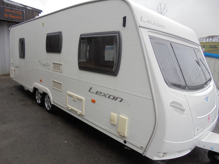 Lunar Lexon 640RS  4 Berth Twin Axle Caravan - 2008