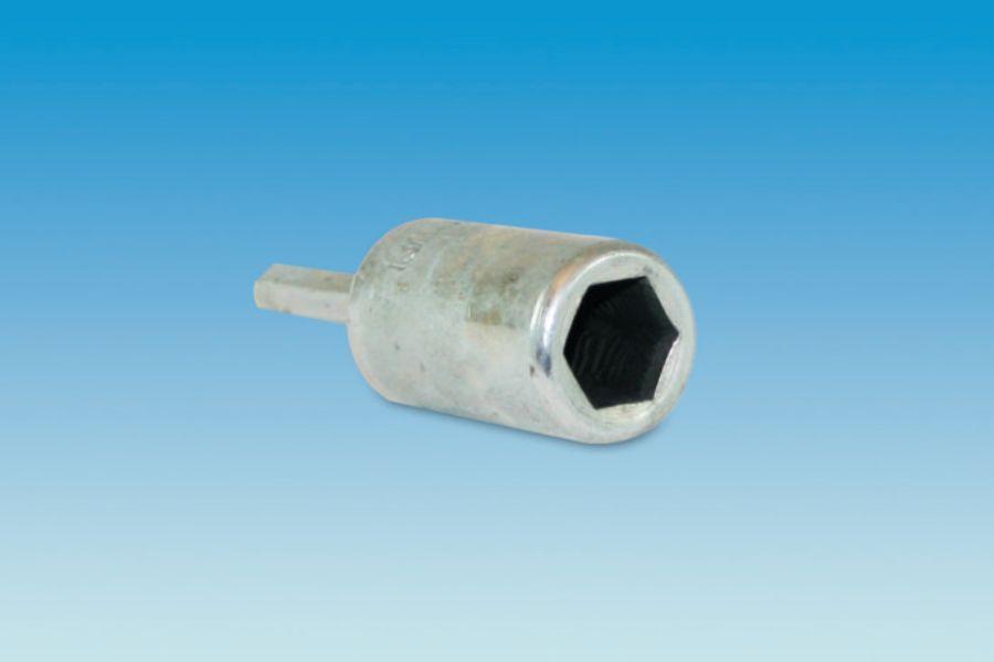 Hard Ground Peg Socket Drill Attachment