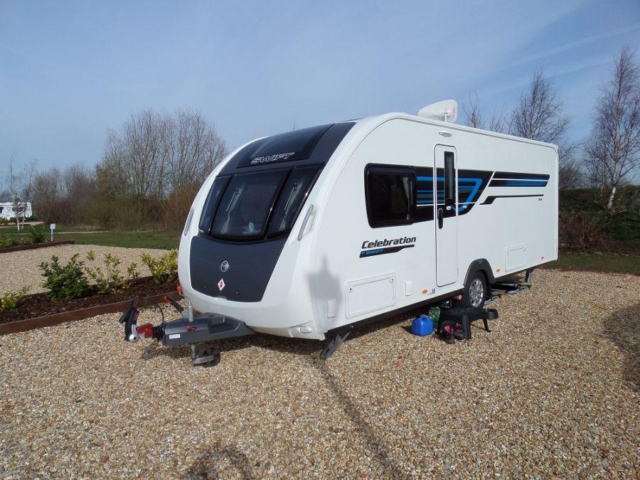 Swift Celebration 584 Caravan  - 2015 Fixed Island Bed