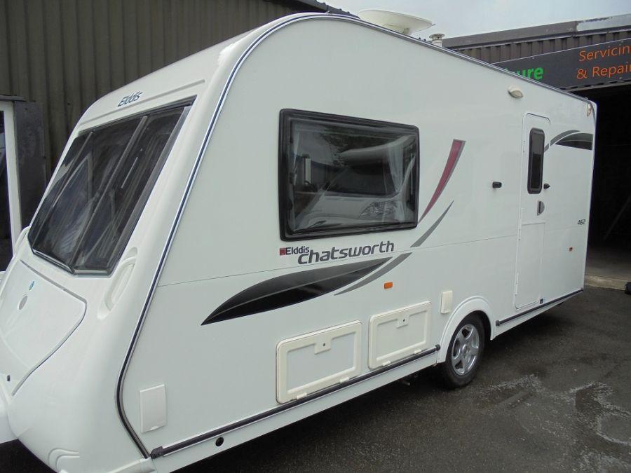 Elddis Chatsworth 462 Caravan - 2 Berth - 2011