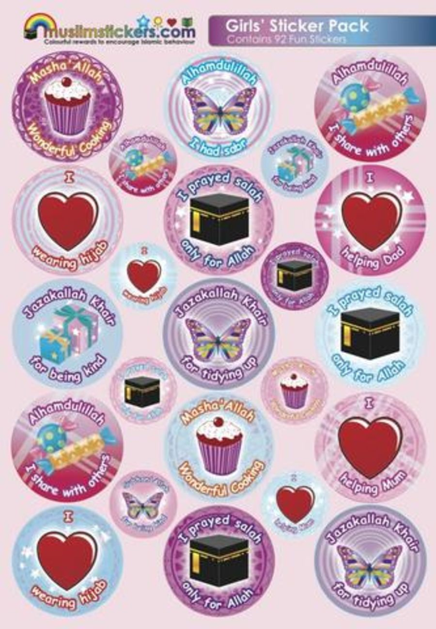 Girls Sticker Pack