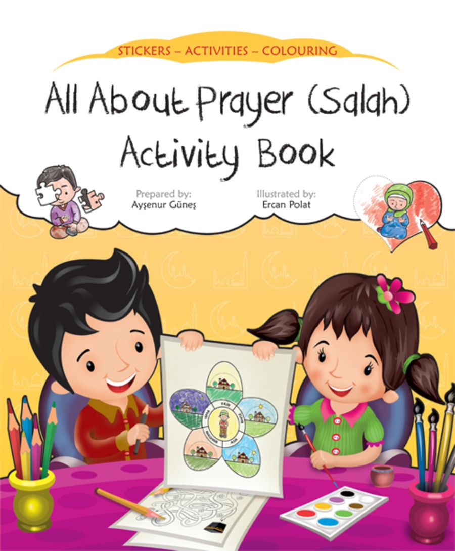 All About Prayer (Salah) Activity Book;