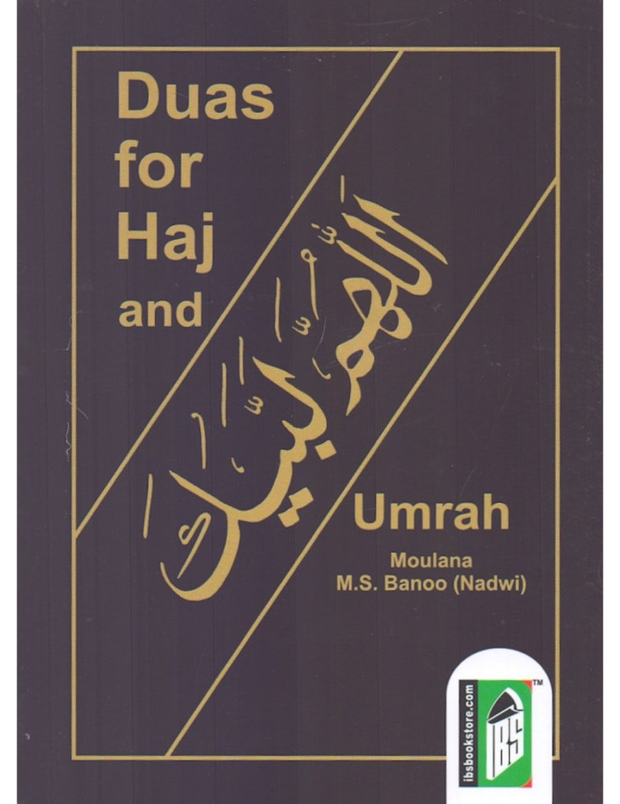 Duas For Haj And Umrah (Pocket Sized)
