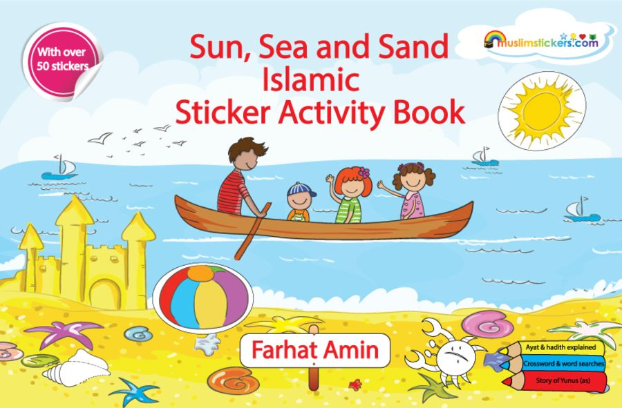 Sun Sea & Sand Islamic Sticker Activity Book