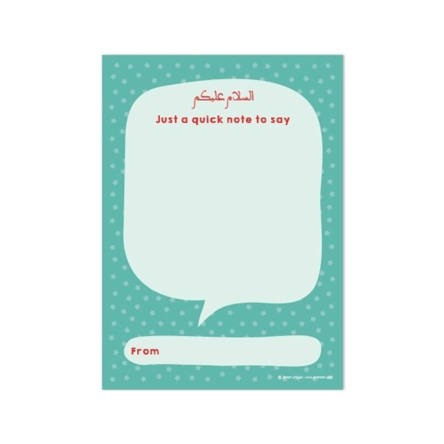 A6 Teacher Or Parent Notepad