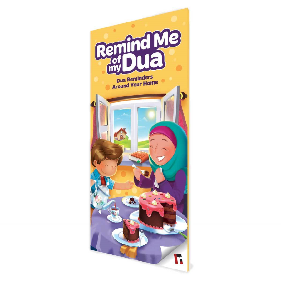 Remind me (Pack of 6 Illustrated Dua Reminders)