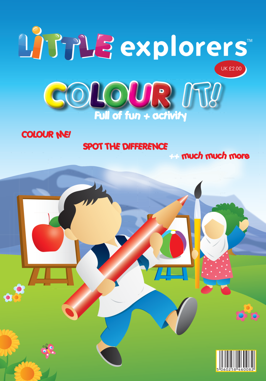 Little Explorers – Colour  iT!