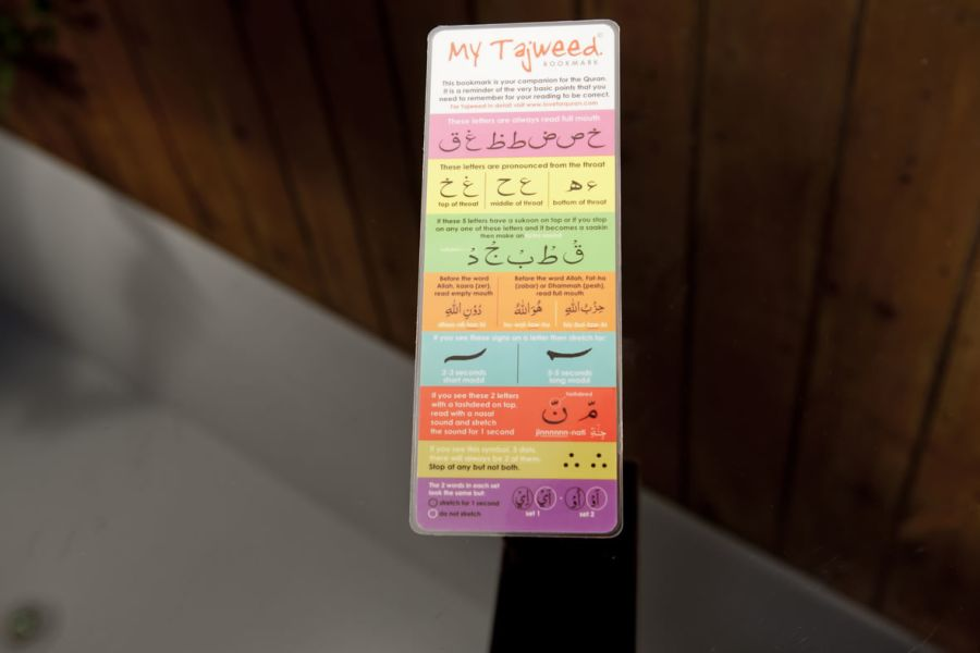 Tajweed BookMark