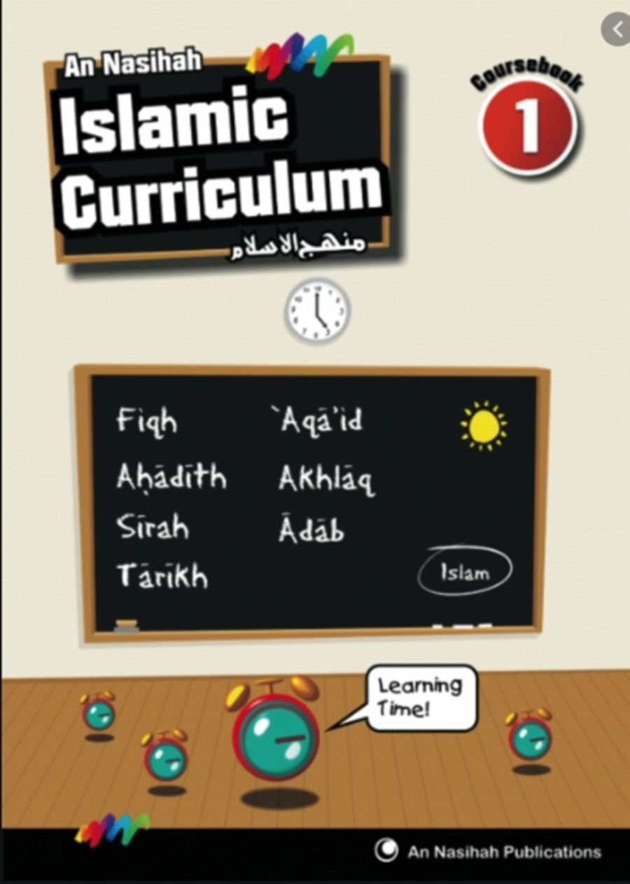 An Nasihah Islamic Curriculum Year 1 Islamic Studies (Course Book)