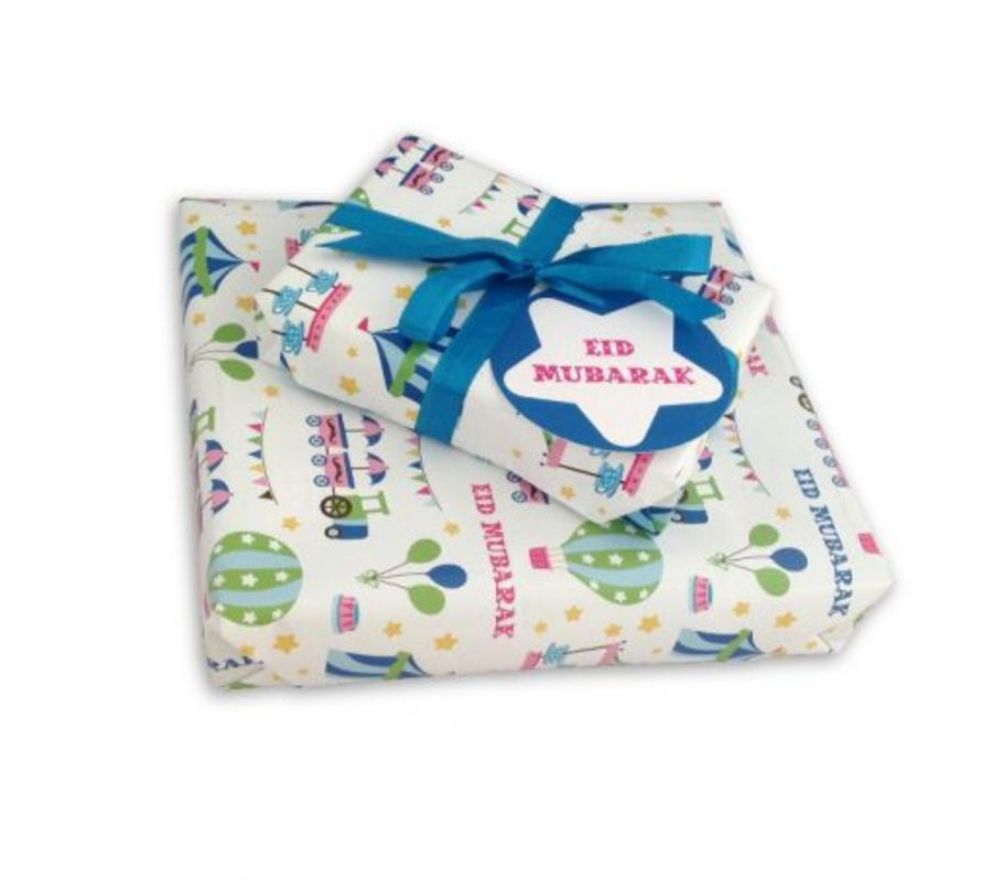 Fairground Gift Wrap Set