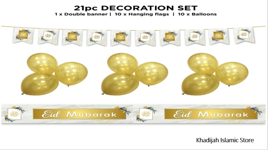 21PC-JUMBO SET (WHITE &GOLD)