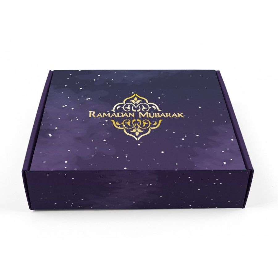Ramadan Mubarak Purple Box
