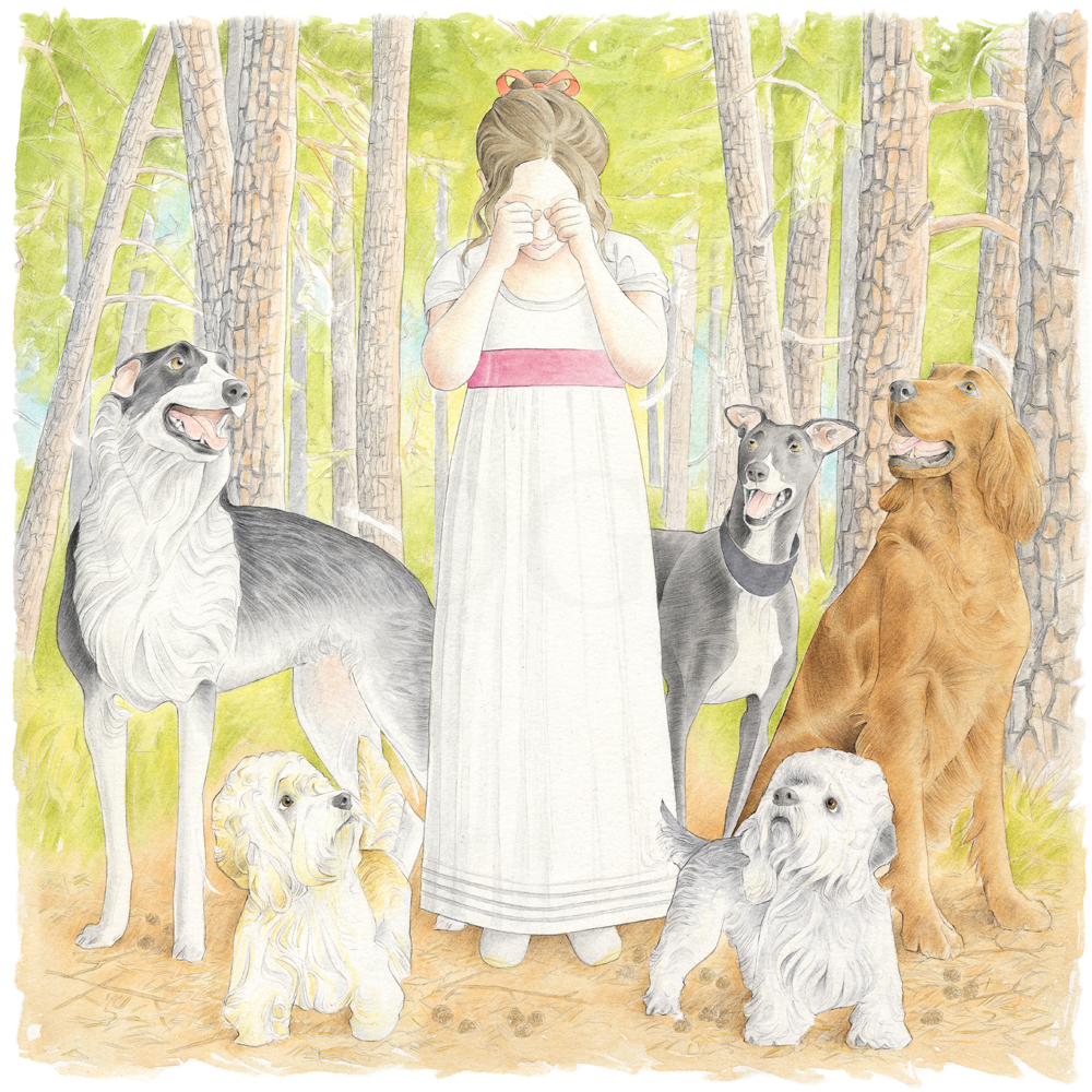 'Anne was still crying' (Greeting Card)
