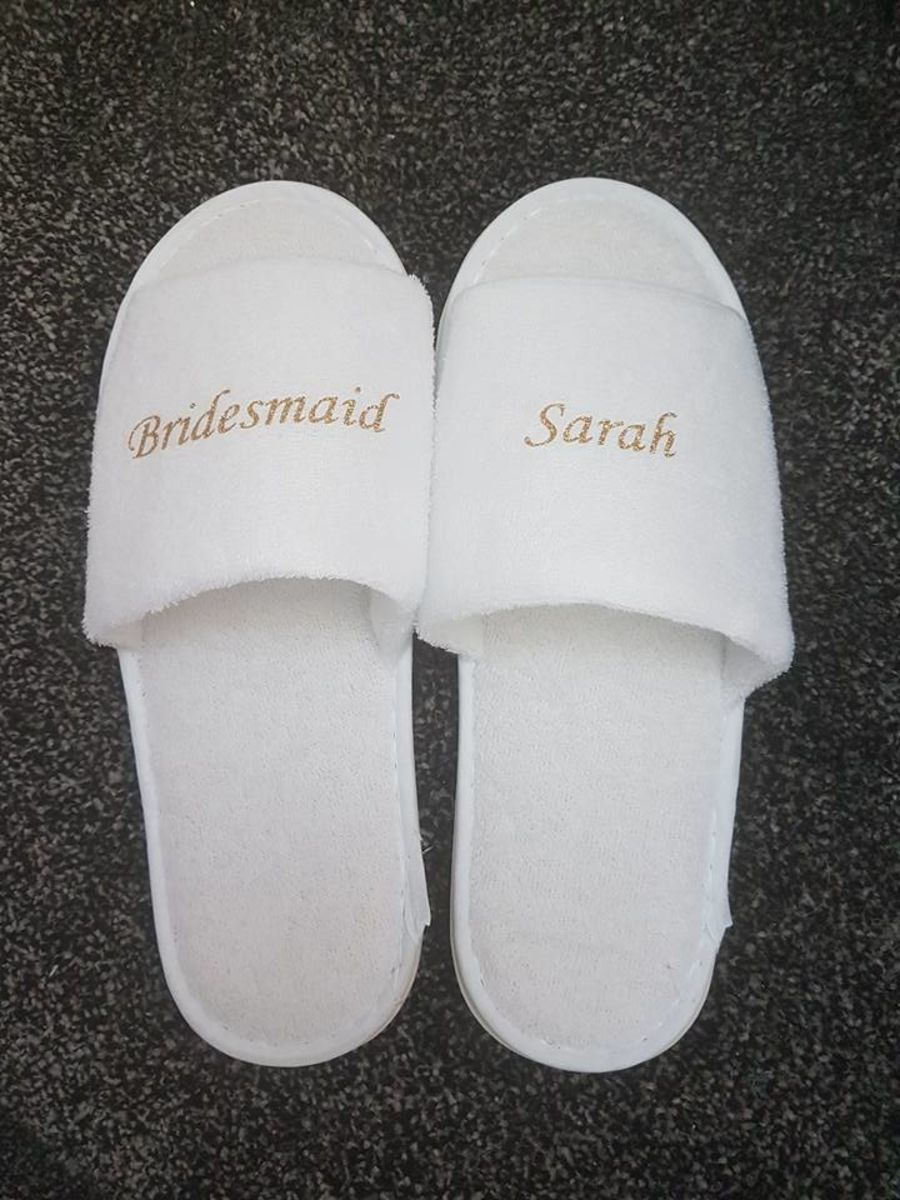 Personalised slippers