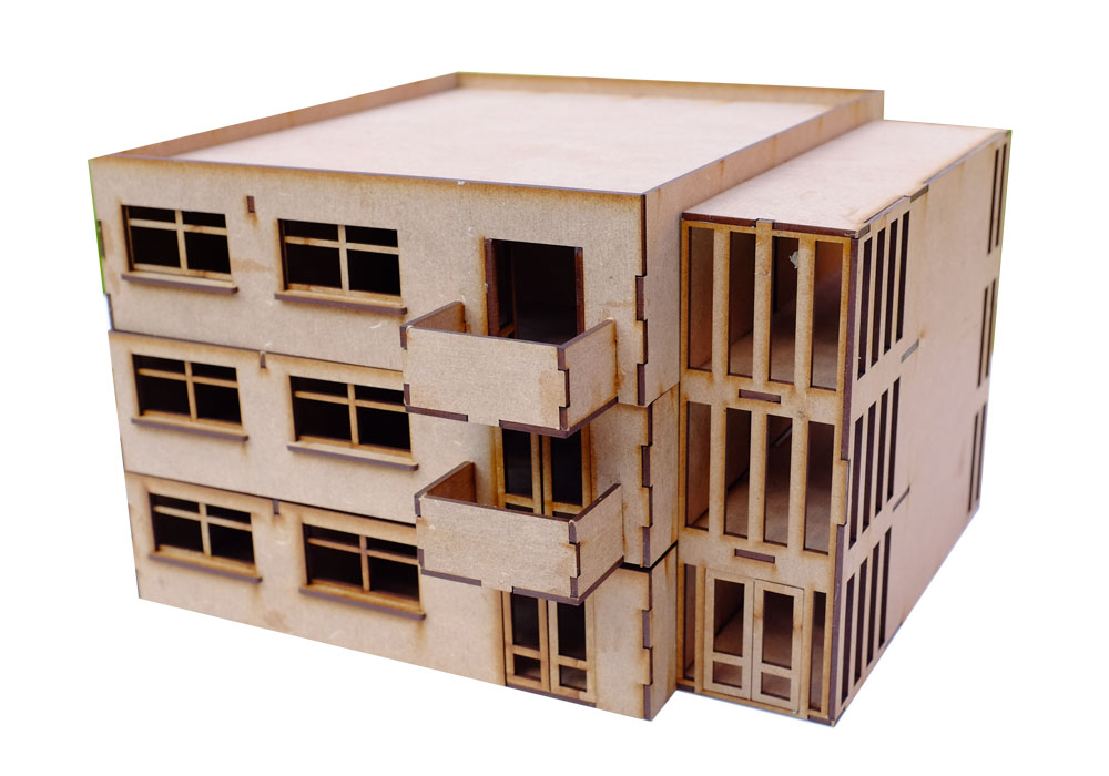 28mm Modern Block of Flats