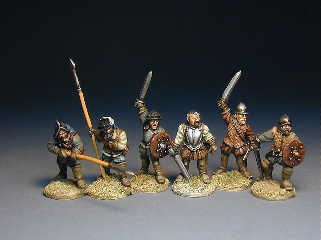 BR03 The March Warden and his Men