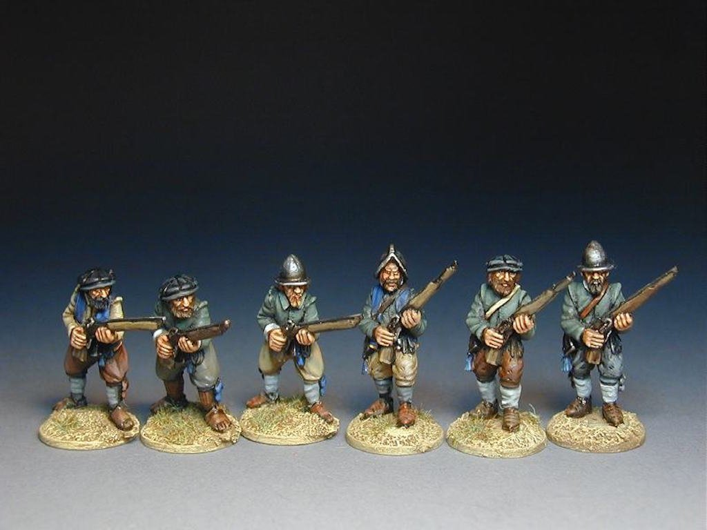 BR11 Garrison Men with Calivers