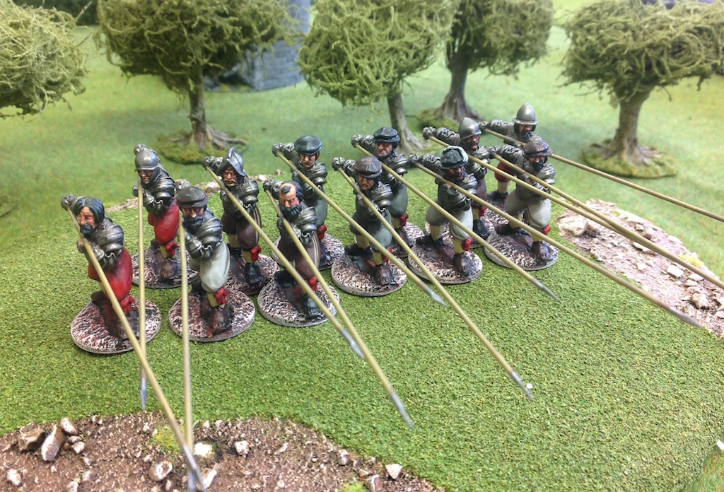 BR16 Garrison Men with Pikes level