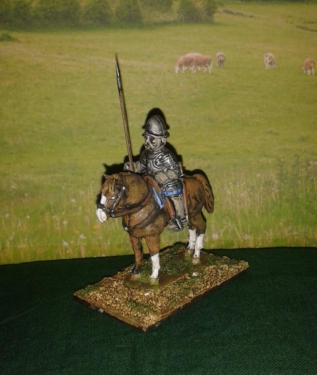 REC02 Light Cavalryman with Spear