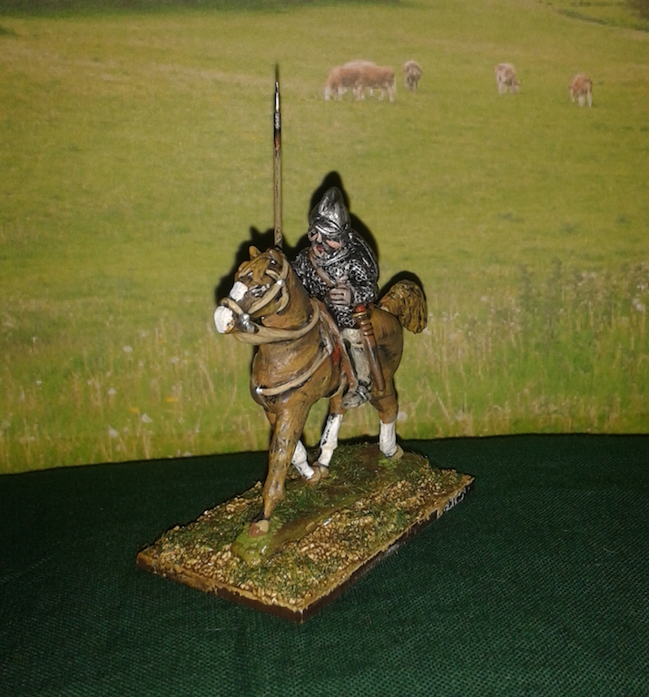 REC04 Border Horse, Shield and Spear