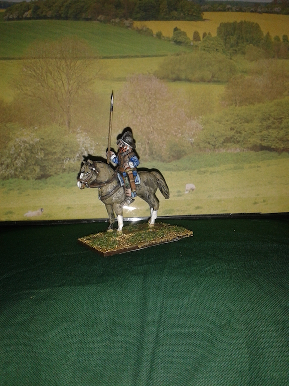 REC12 Irish Light Horse with Spear