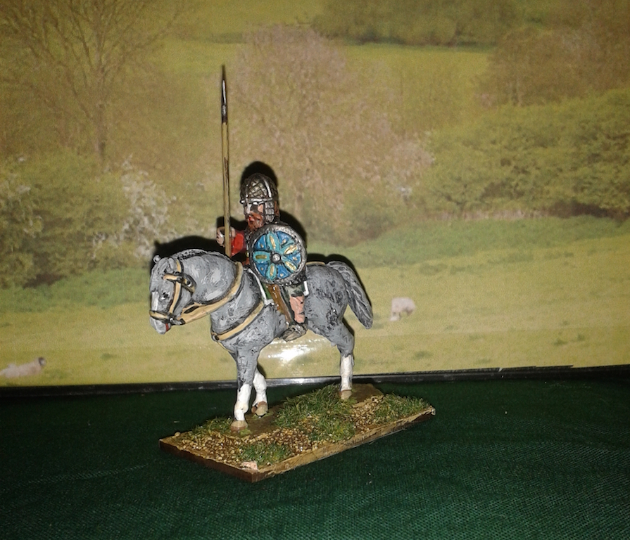 REC13 Irish Cavalry in Mail with Spear