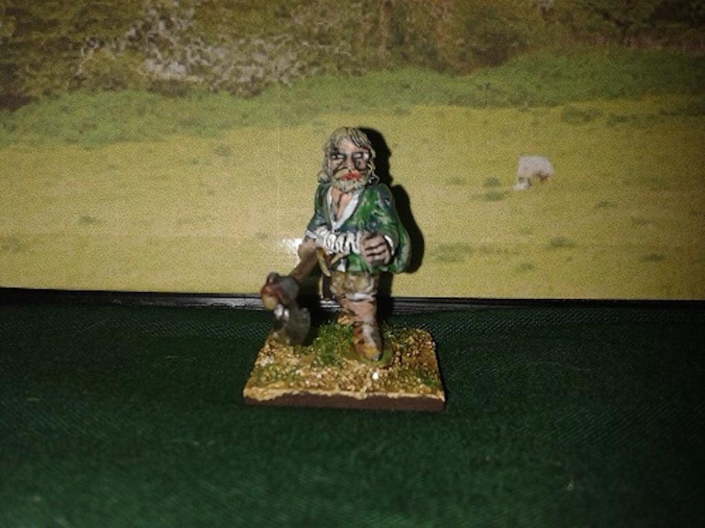 RE26 Irish Bonnaught with Axe