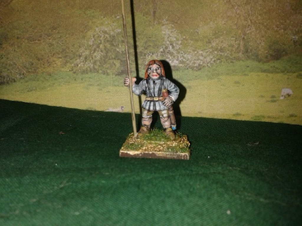 RE27 Irish Light Pikemen