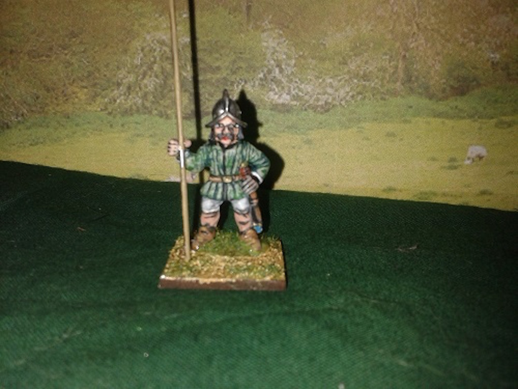 RE28 Irish Light Pikemen with Helmets