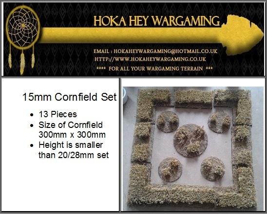 15mm Cornfield set