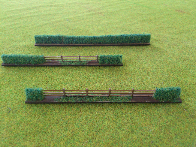 10-15 mm Hedge Fence section