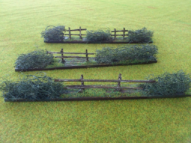 20-28 mm Hedge Fence Section