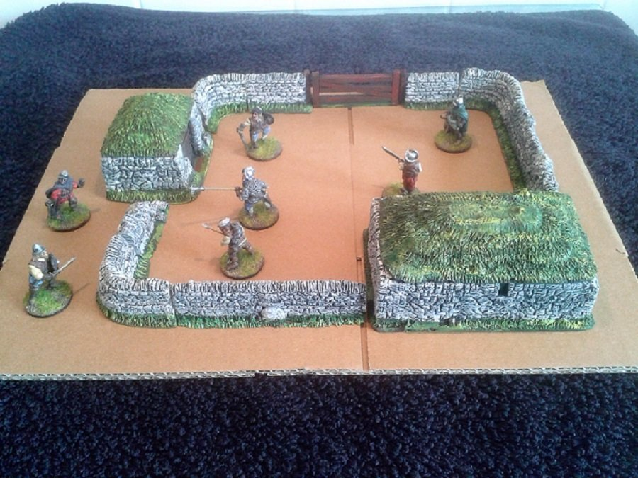 Border Reiver Village Set