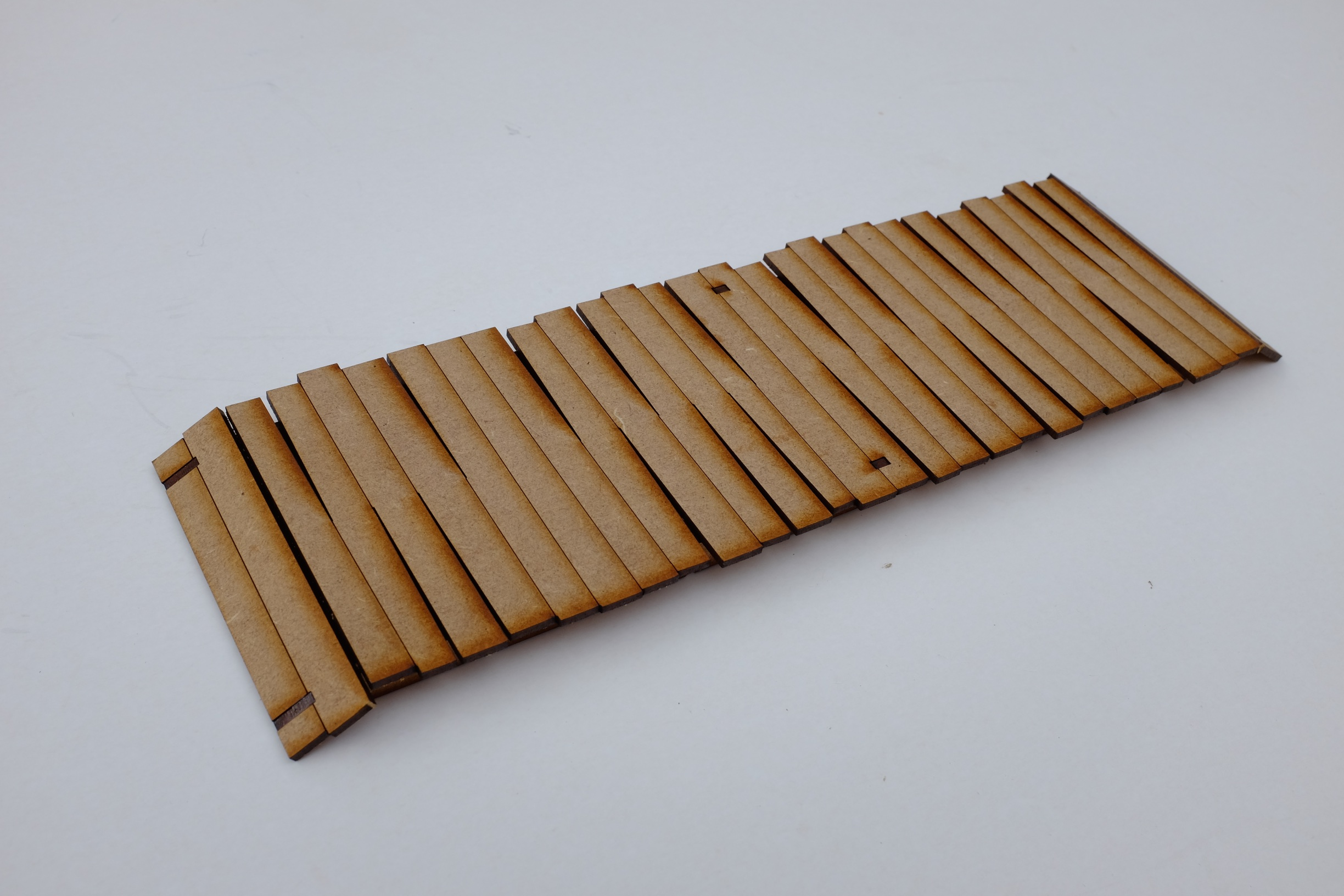 15mm Flat Timber Bridge
