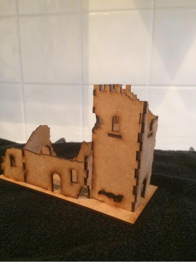 15 mm Norman Church Ruin
