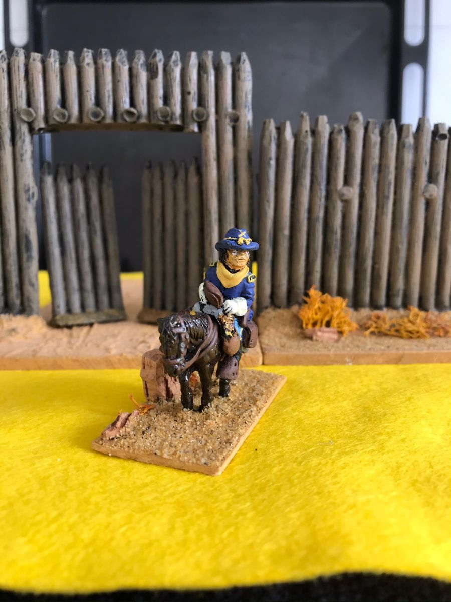 US02 Cavalry Officer  Mounted