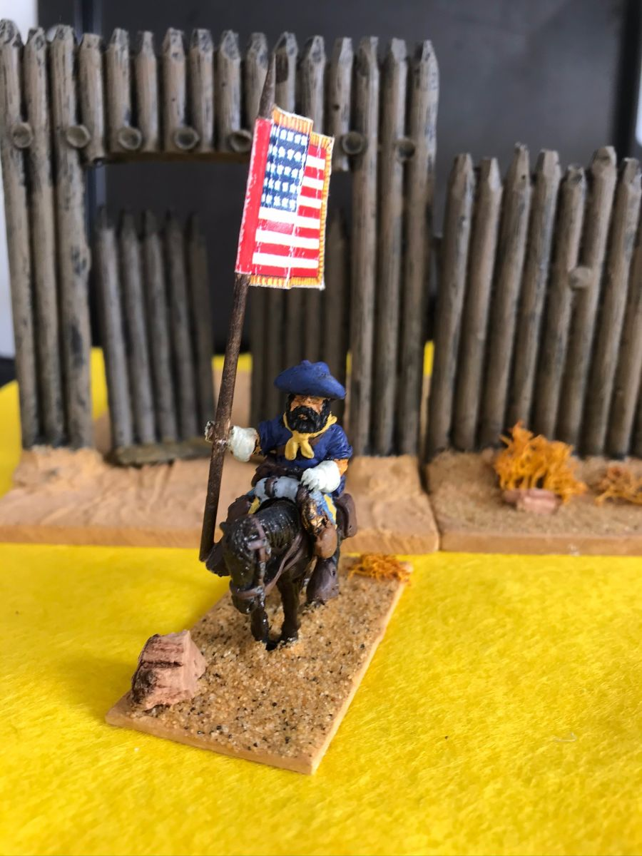 US03 Guidon Bearer - mounted pose