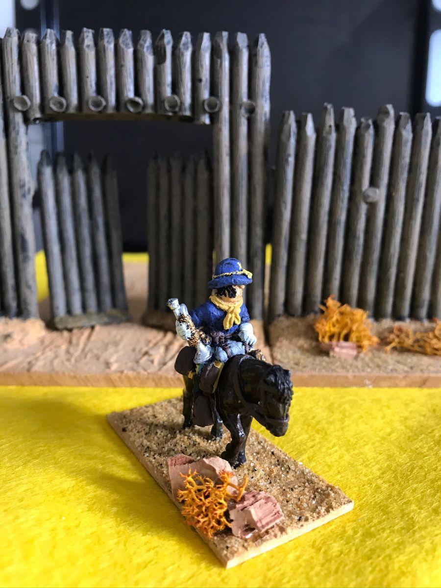 US05 Bugler in Mounted pose