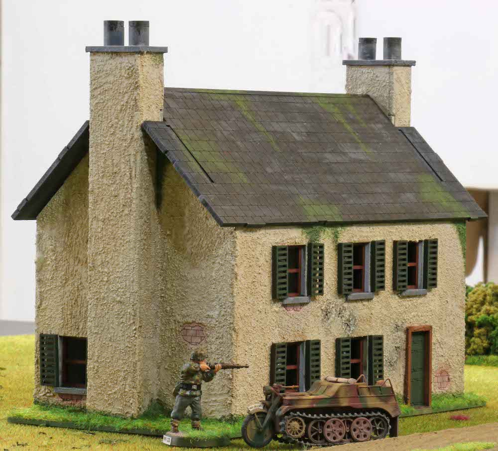 28mm Normandy Farmhouse