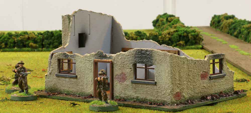 28mm Farmhouse Ruin