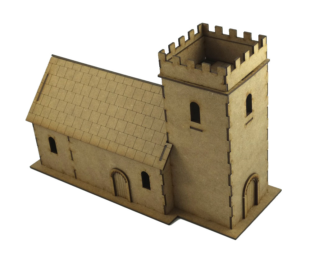 28mm Small Norman Church