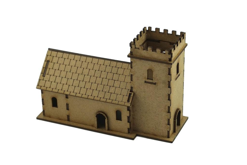 15mm Norman Church