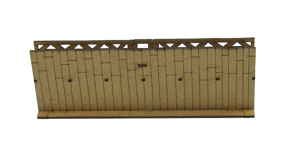 15mm Roman Wall Section