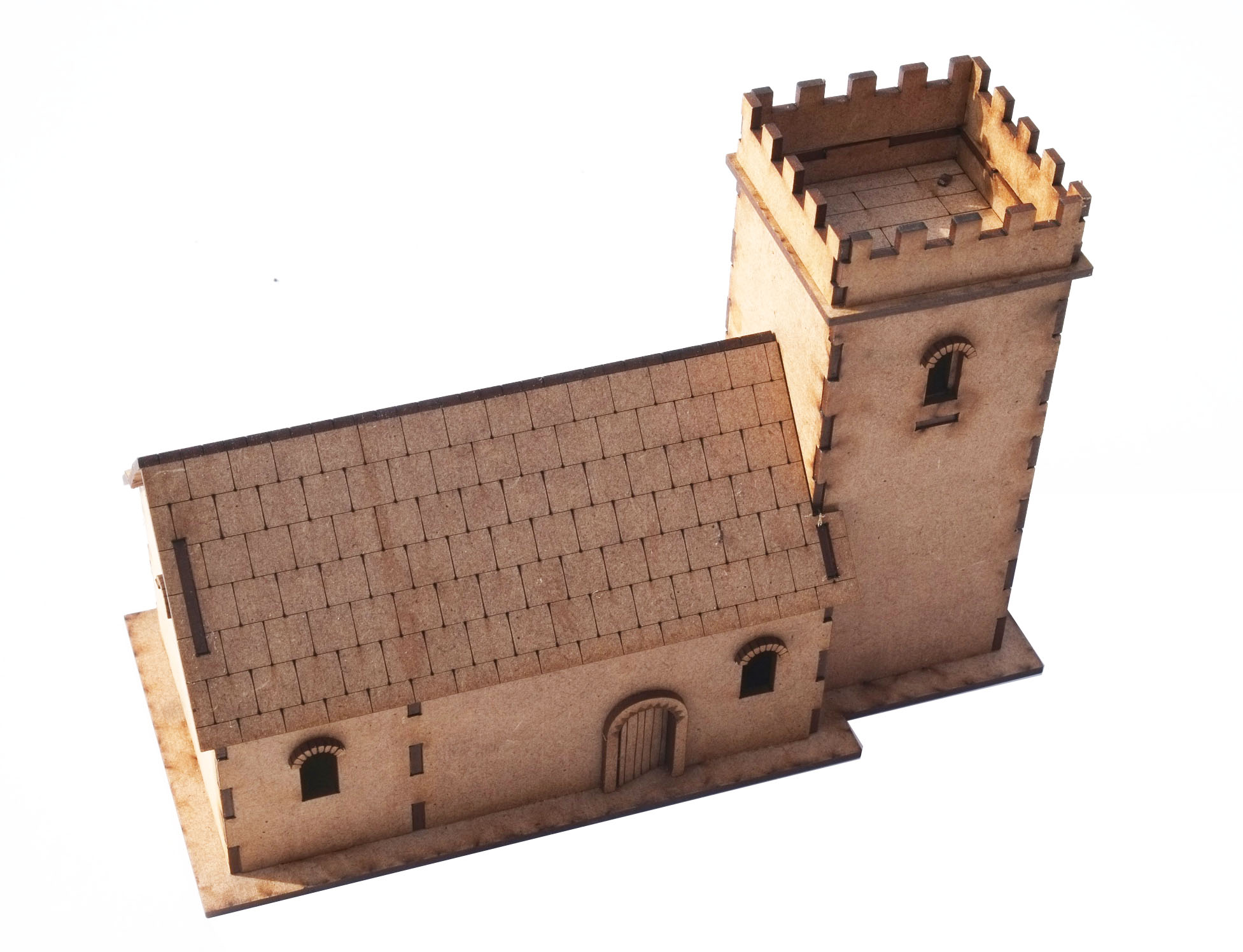 20mm Small Norman Church
