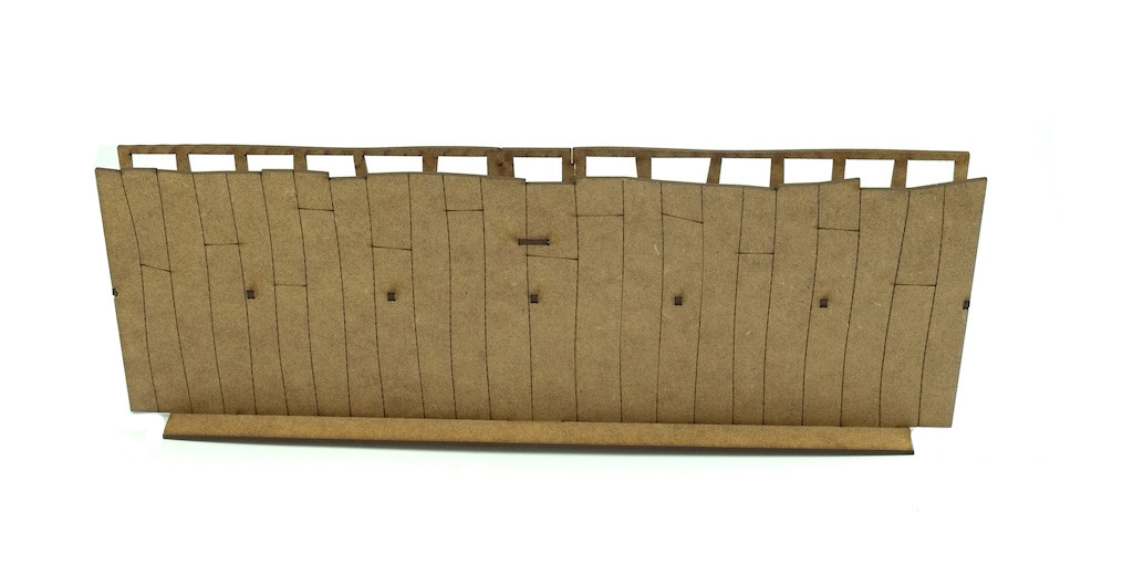 28mm Roman Wall Section
